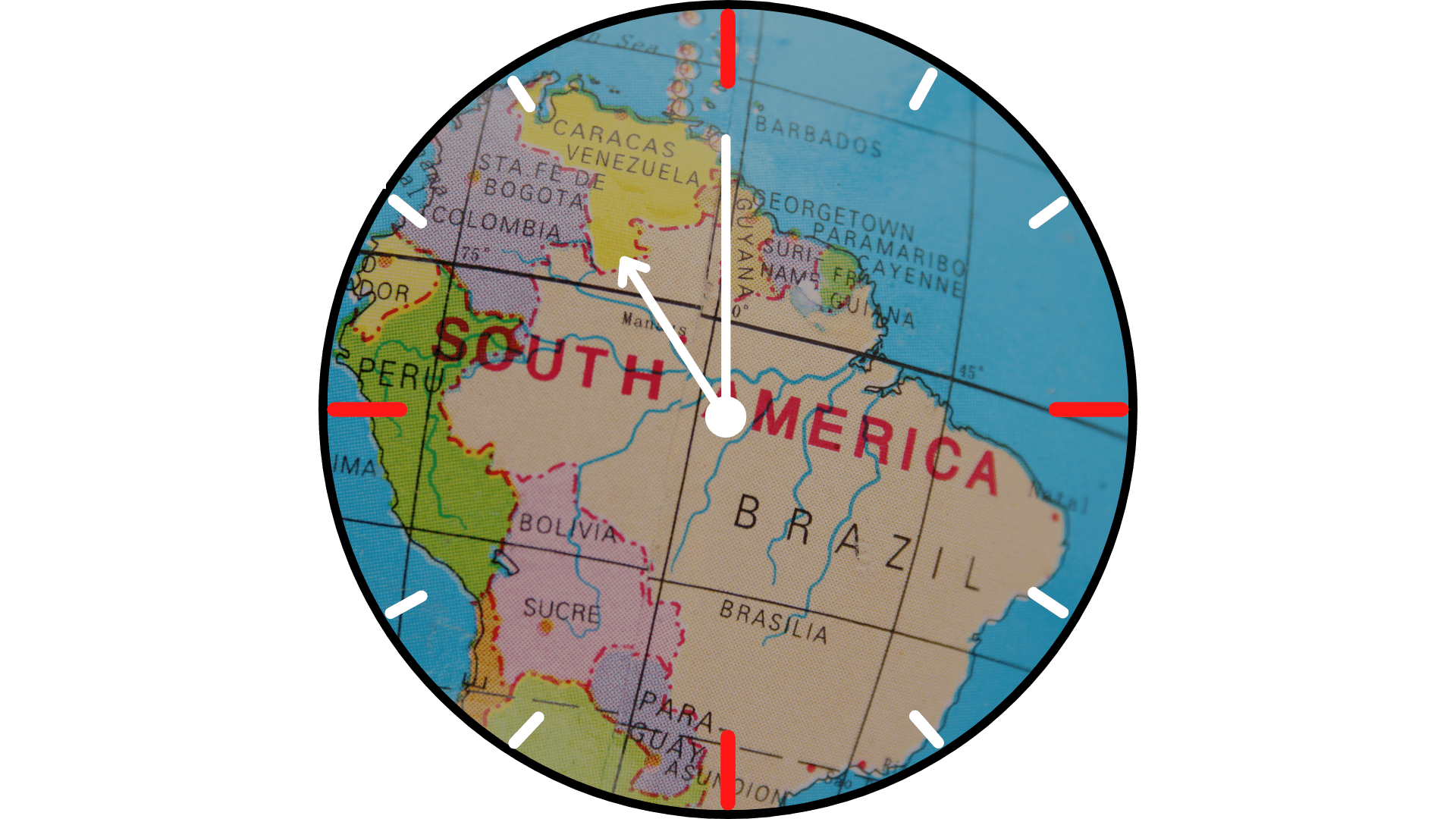 Čas obchodovania na burze v Južnej Amerike