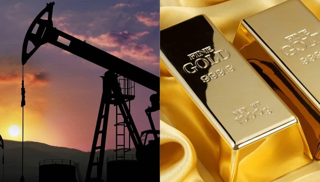 obchodovanie na burze - komodity ropa a zlato